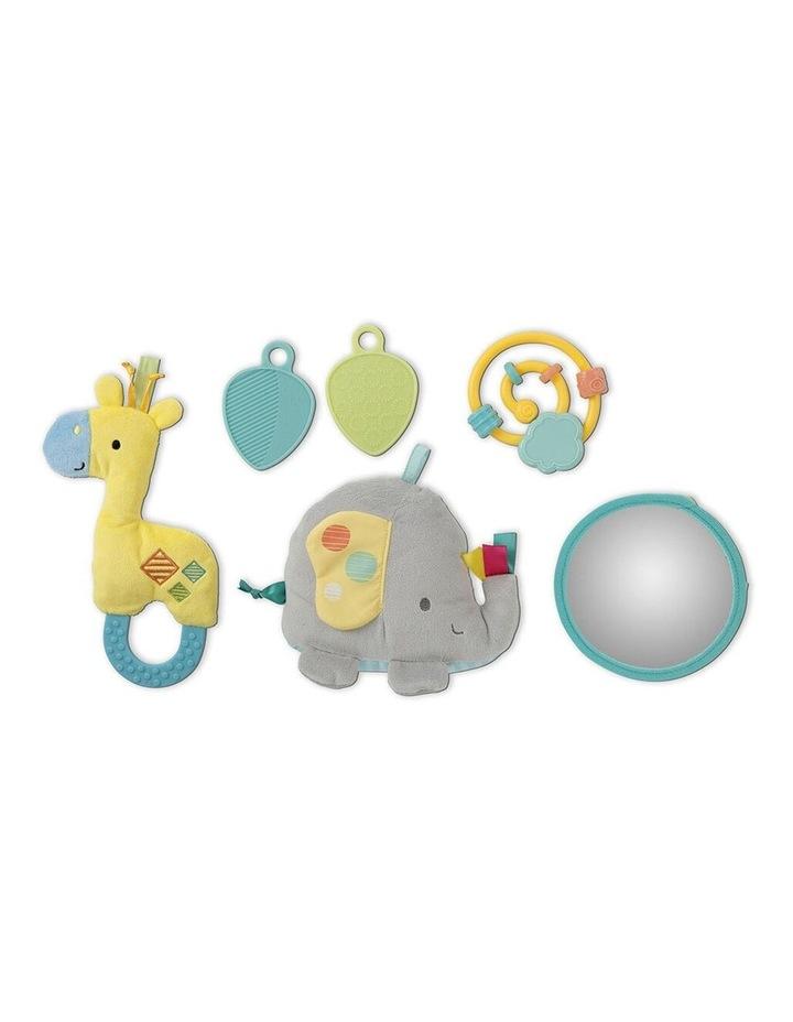 Hug N Cuddle Elephant Baby Activity Gym Play Mat with Plush/Music/Toy image 2