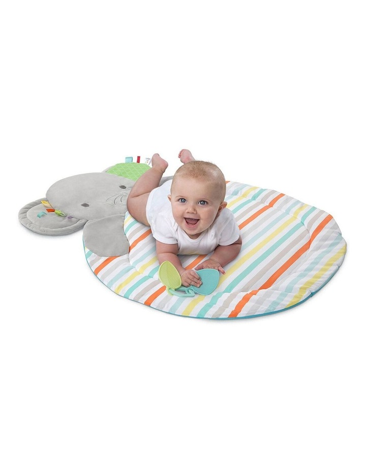 Hug N Cuddle Elephant Baby Activity Gym Play Mat with Plush/Music/Toy image 3