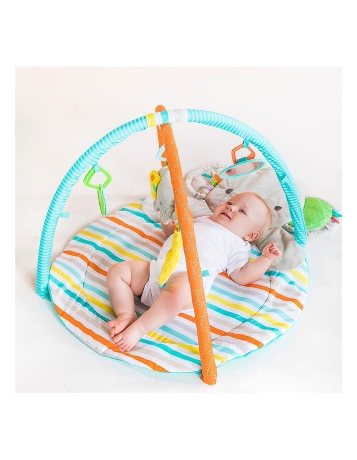 Hug N Cuddle Elephant Baby Activity Gym Play Mat with Plush/Music/Toy image 4