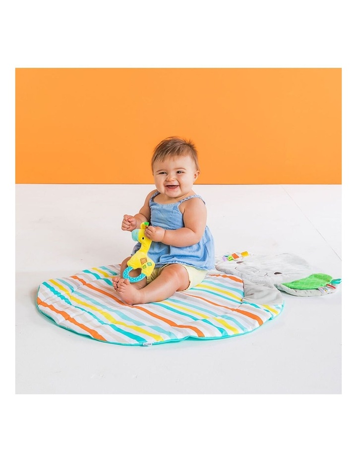 Hug N Cuddle Elephant Baby Activity Gym Play Mat with Plush/Music/Toy image 6