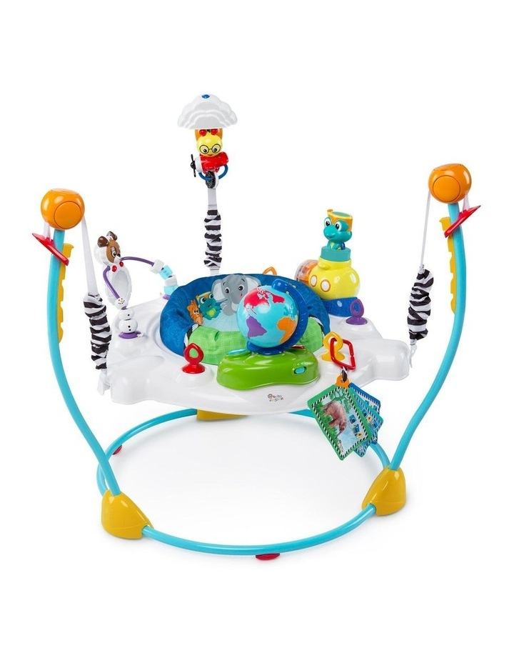 Journey of Discovery Activity Jumper with Sounds/Toys/Tray for Baby image 1