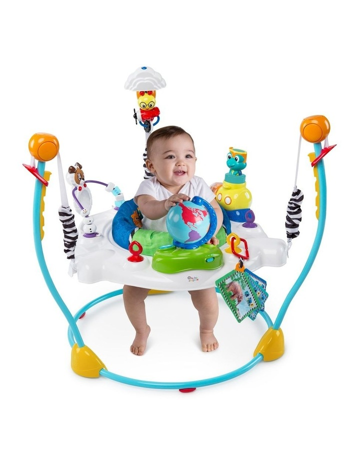 Journey of Discovery Activity Jumper with Sounds/Toys/Tray for Baby image 2