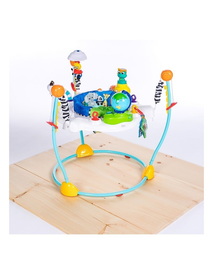 Journey of Discovery Activity Jumper with Sounds/Toys/Tray for Baby image 4