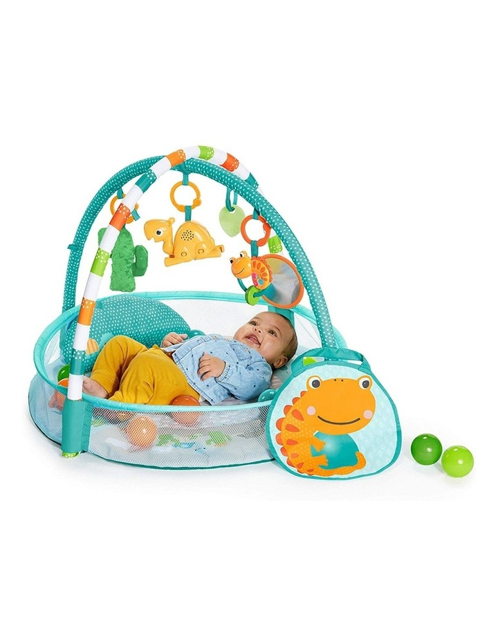 Rounds Of Fun Baby Infant Activity Play Gym/Pit with 10 Balls/Toy 0m  image 1
