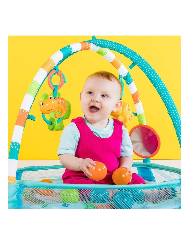 Rounds Of Fun Baby Infant Activity Play Gym/Pit with 10 Balls/Toy 0m  image 4