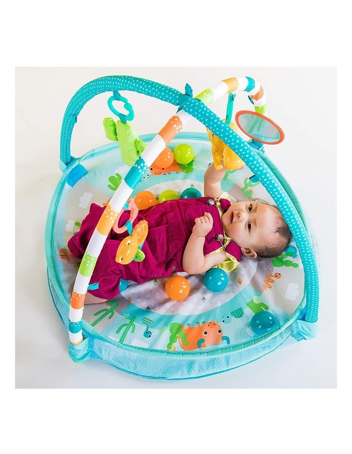Rounds Of Fun Baby Infant Activity Play Gym/Pit with 10 Balls/Toy 0m  image 5
