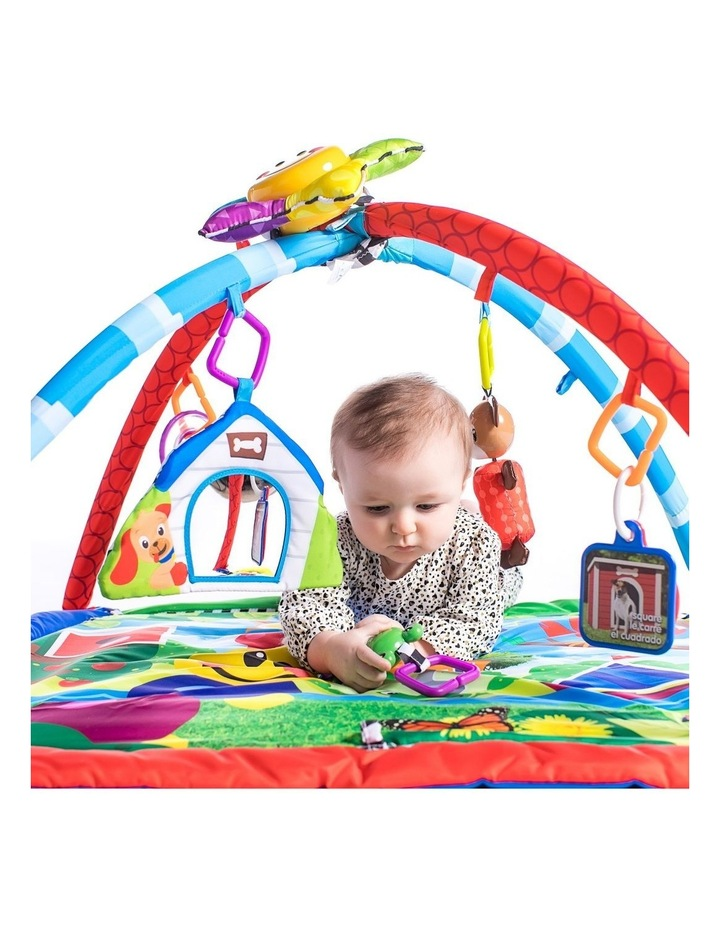 Caterpillar & Friends Baby/Infant Play Gym/Mat/Sound/Lights/Toys image 2