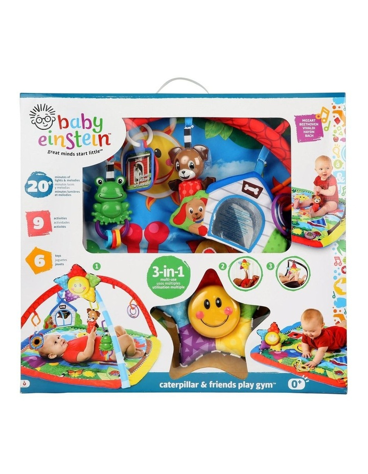 Caterpillar & Friends Baby/Infant Play Gym/Mat/Sound/Lights/Toys image 3