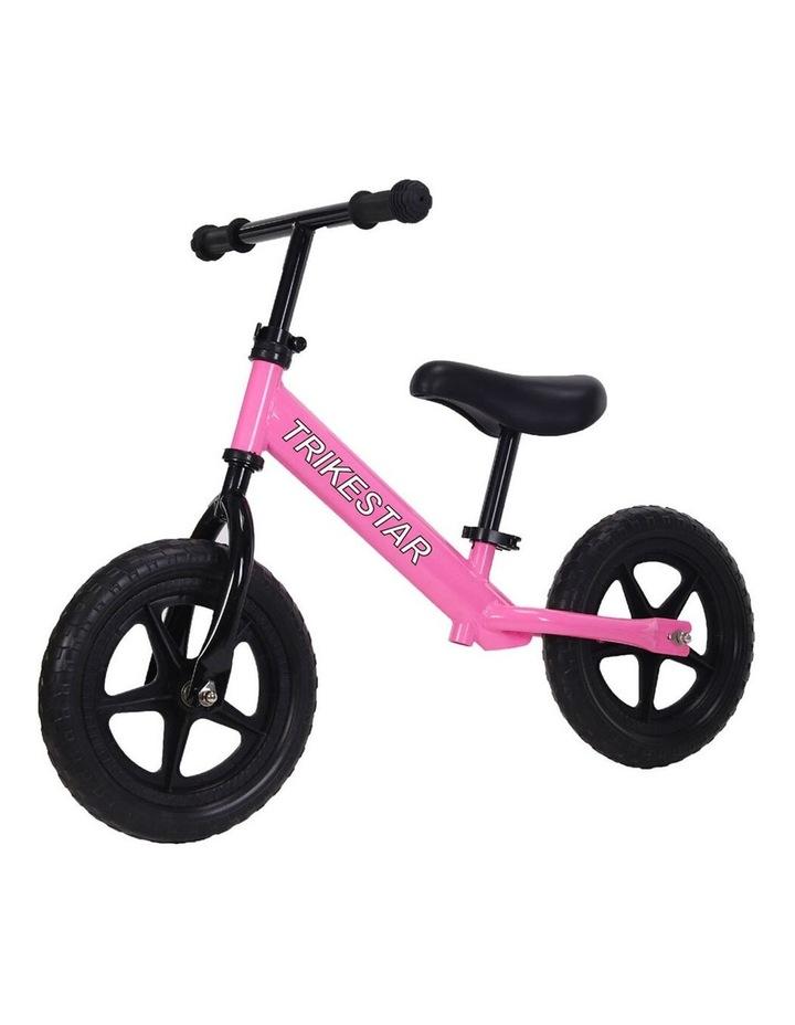 "Trike Star 12"" Balance Bike Kids/Children 2y  Ride On Bicycle Wheels Toy Pink image 1"