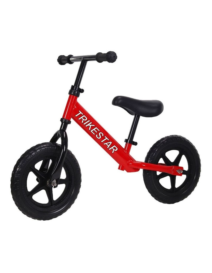 "Trike Star 12"" Balance Bike Kids/Children 2y  Ride On Bicycle Wheels Toy Red image 1"