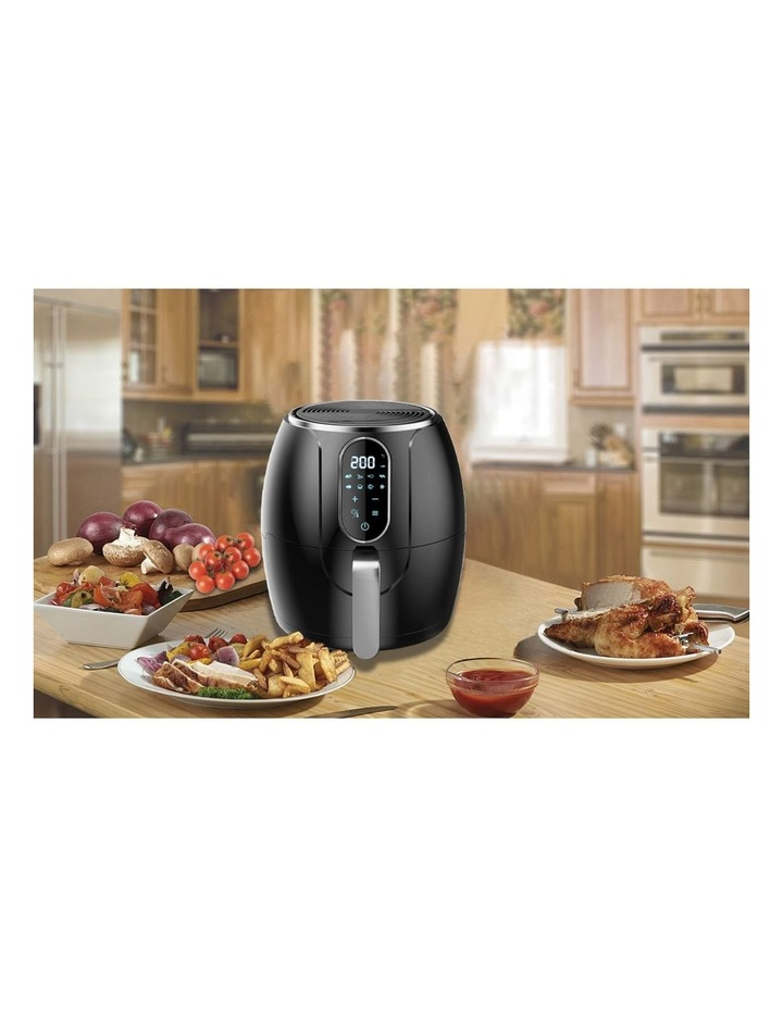 Healthy Choice 3.2L Digital Air Fryer Electric Cooker 1200W Healthy Cooking BLK image 2