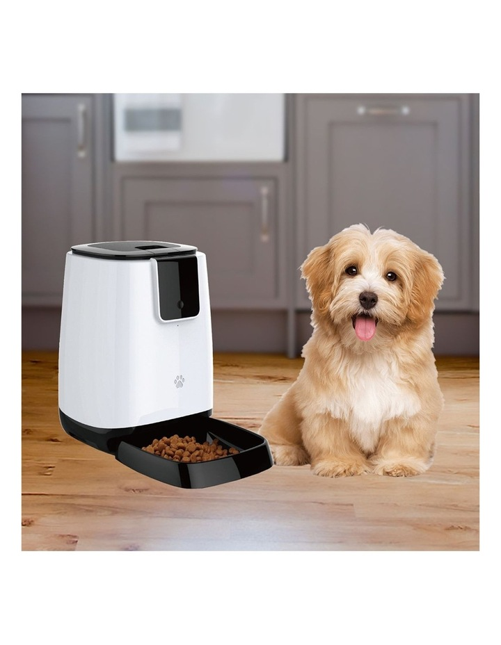 Smart 44cm Auto Feeder Pet/Dog/Cat Feeding Bowl Timer/Wi-Fi APP Control image 2