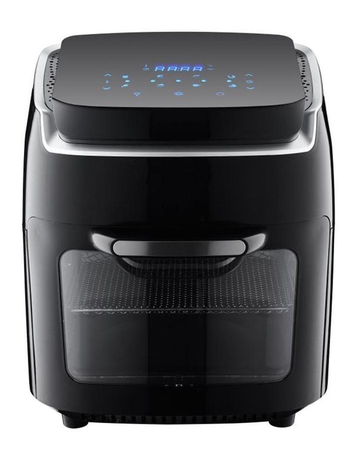 Heller 12L Digital Air Fryer 1800W Electric Oven Cooker w/Basket/Tray/Rack Black image 1