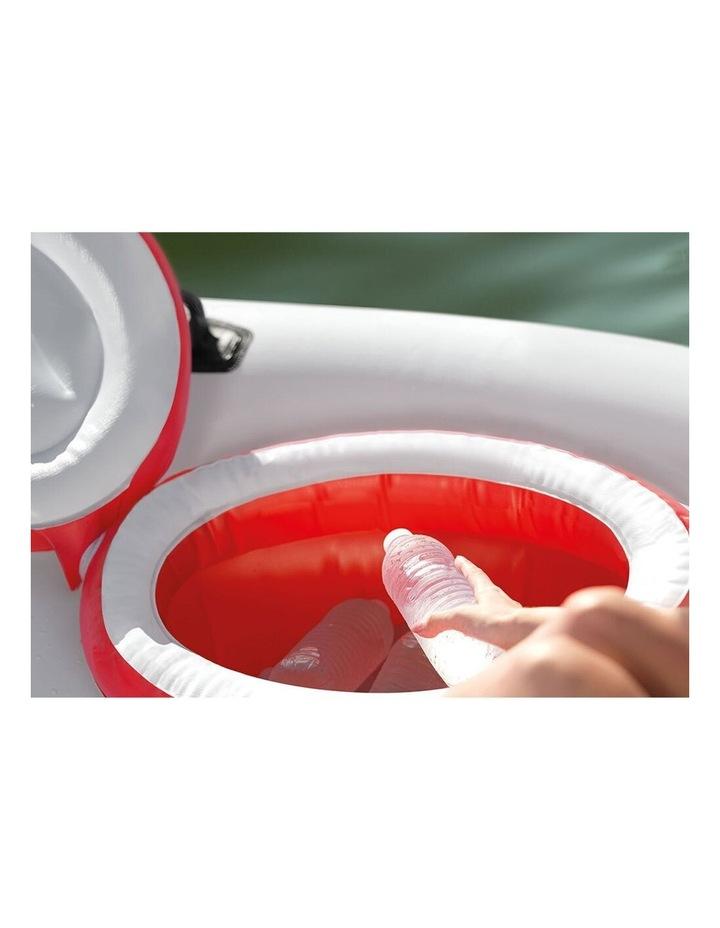 Intex 259cm Marina Breeze Inflatable Island Float Raft Ride On Water River/Pool image 5