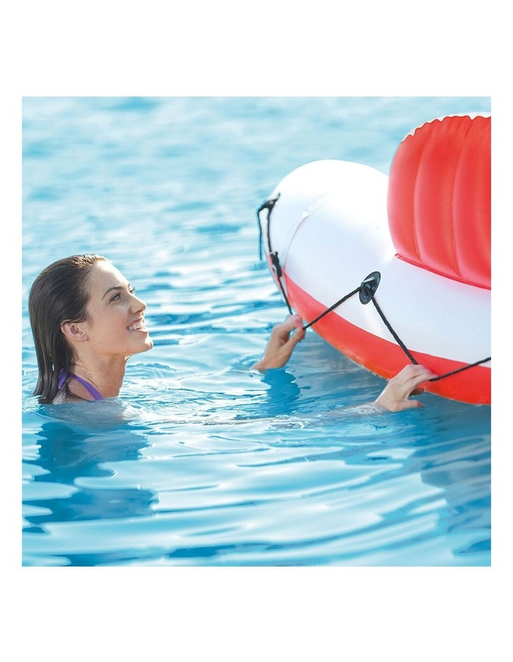Intex 259cm Marina Breeze Inflatable Island Float Raft Ride On Water River/Pool image 7