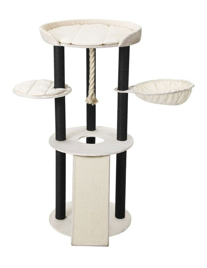 141cm Catsby Hampton Cat Tree Scratching Post Tower Pet Bed image 1