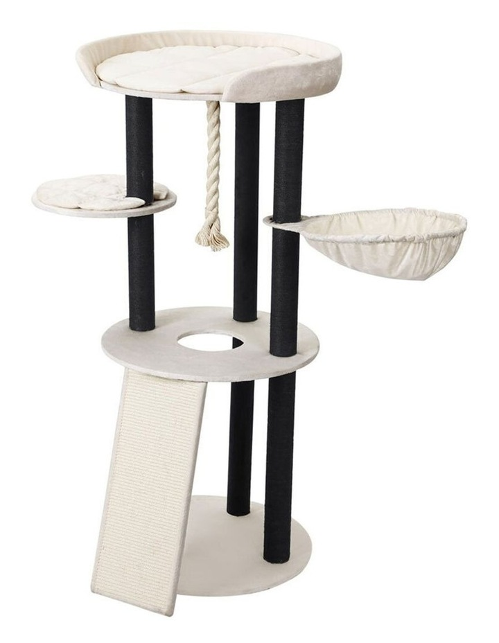 141cm Catsby Hampton Cat Tree Scratching Post Tower Pet Bed image 2