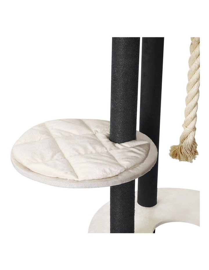 141cm Catsby Hampton Cat Tree Scratching Post Tower Pet Bed image 4