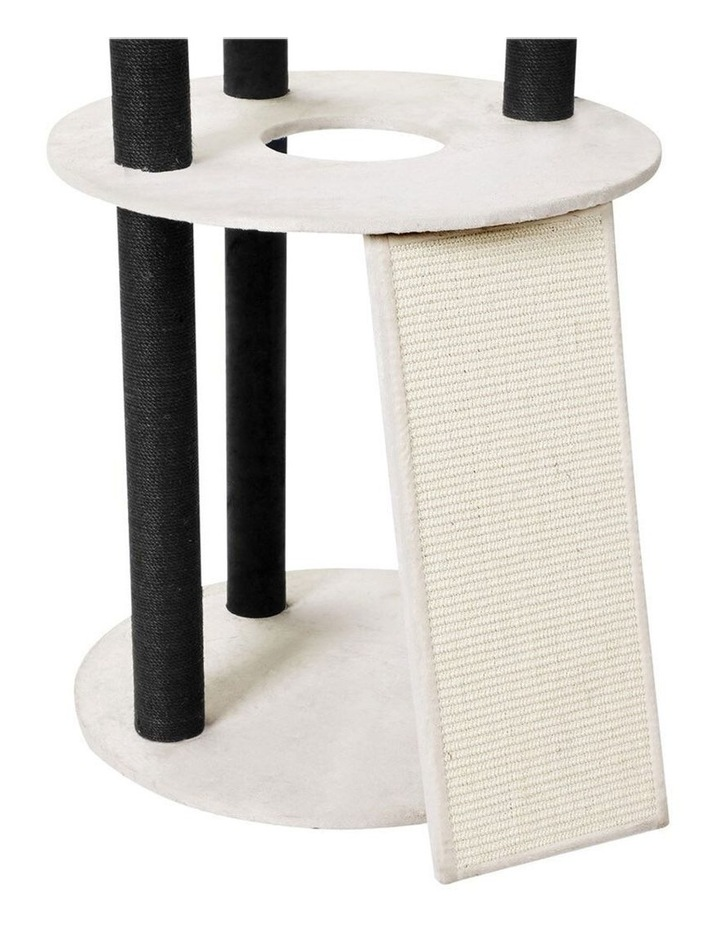 141cm Catsby Hampton Cat Tree Scratching Post Tower Pet Bed image 7