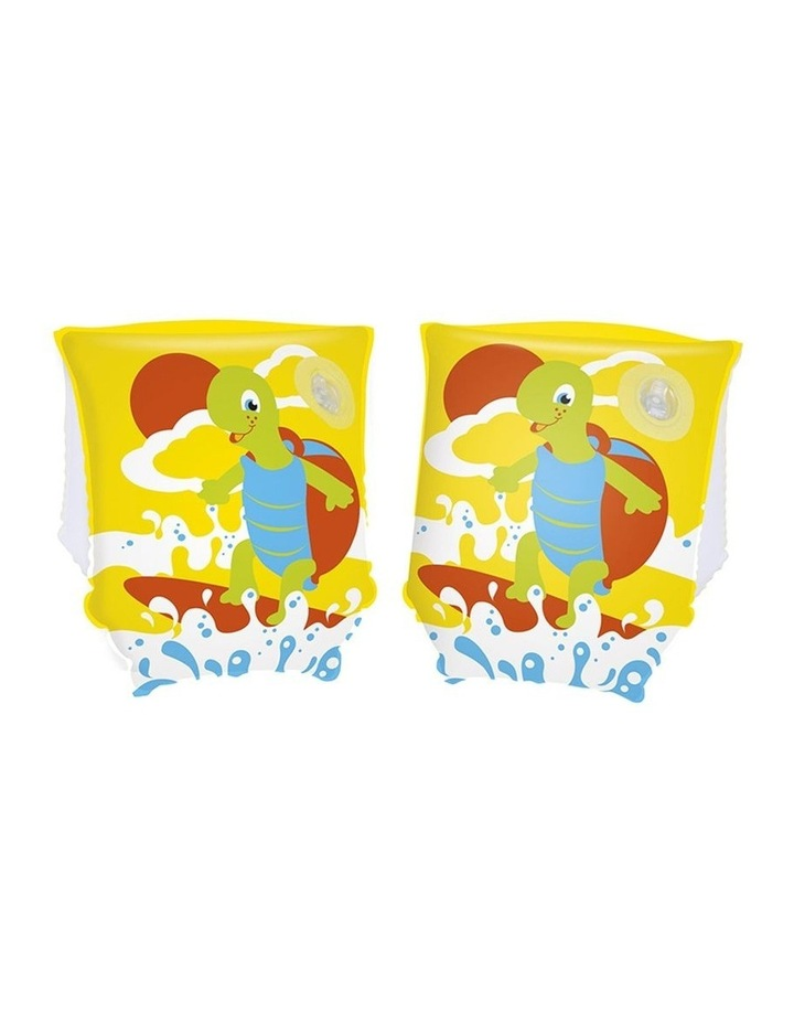 Turtle Armbands Swimming Pool Inflatable Training Floats Kids 3-6y Asst. image 2