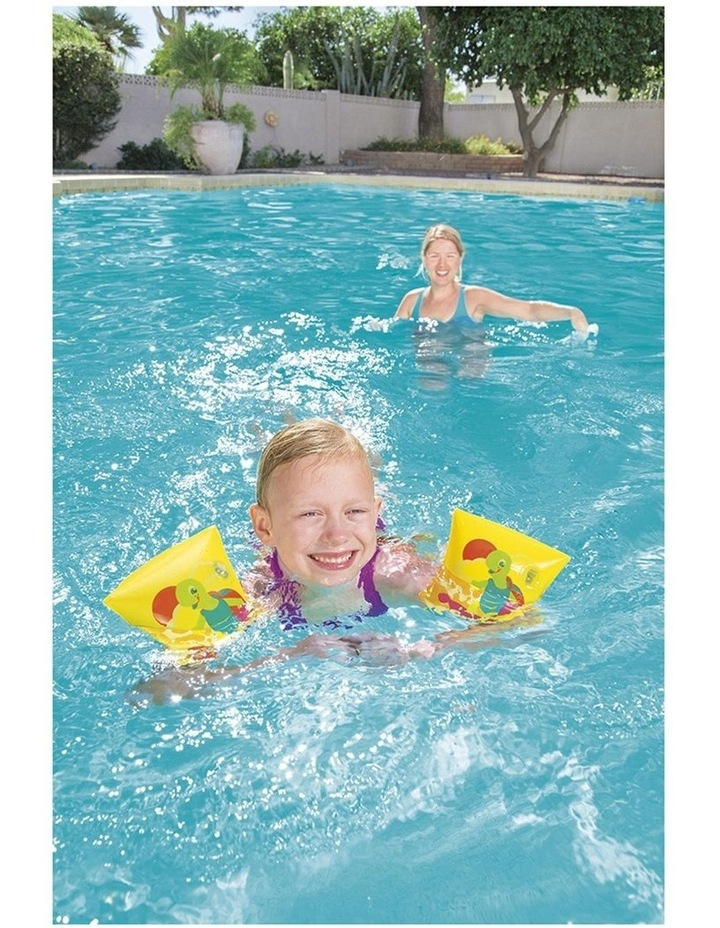 Turtle Armbands Swimming Pool Inflatable Training Floats Kids 3-6y Asst. image 4