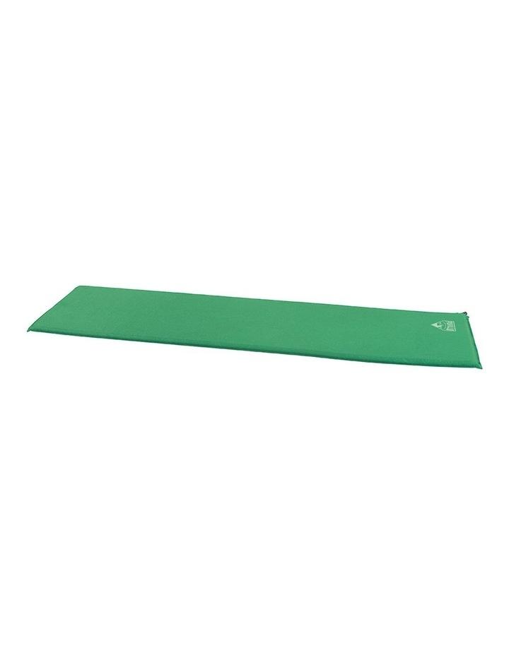 Easy-Inflate Camp Mat Self Inflating Thermal Foam Mattress/Pad Green image 1