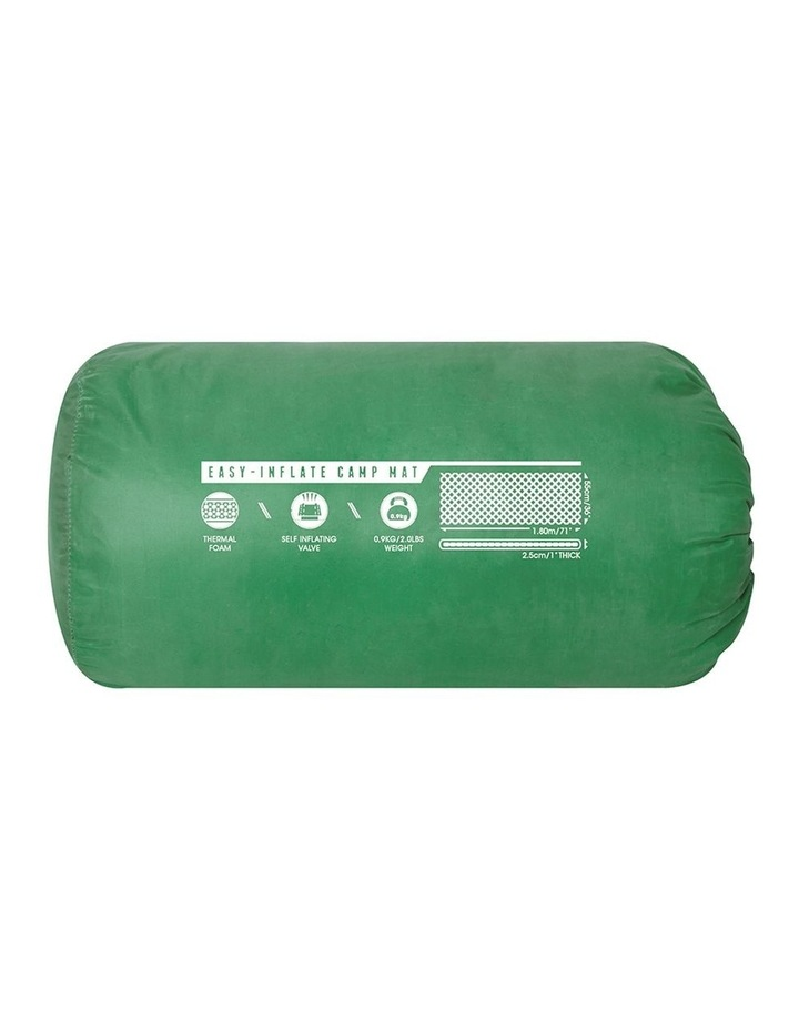Easy-Inflate Camp Mat Self Inflating Thermal Foam Mattress/Pad Green image 2