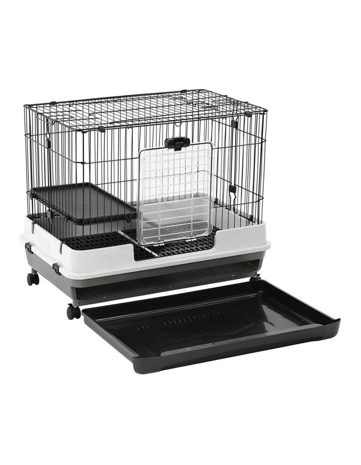 Pet Cage On Wheels 81x66cm Indoor/Outdoor Rabbit Carrier image 2