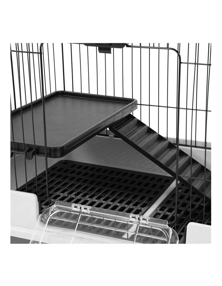 Pet Cage On Wheels 81x66cm Indoor/Outdoor Rabbit Carrier image 3