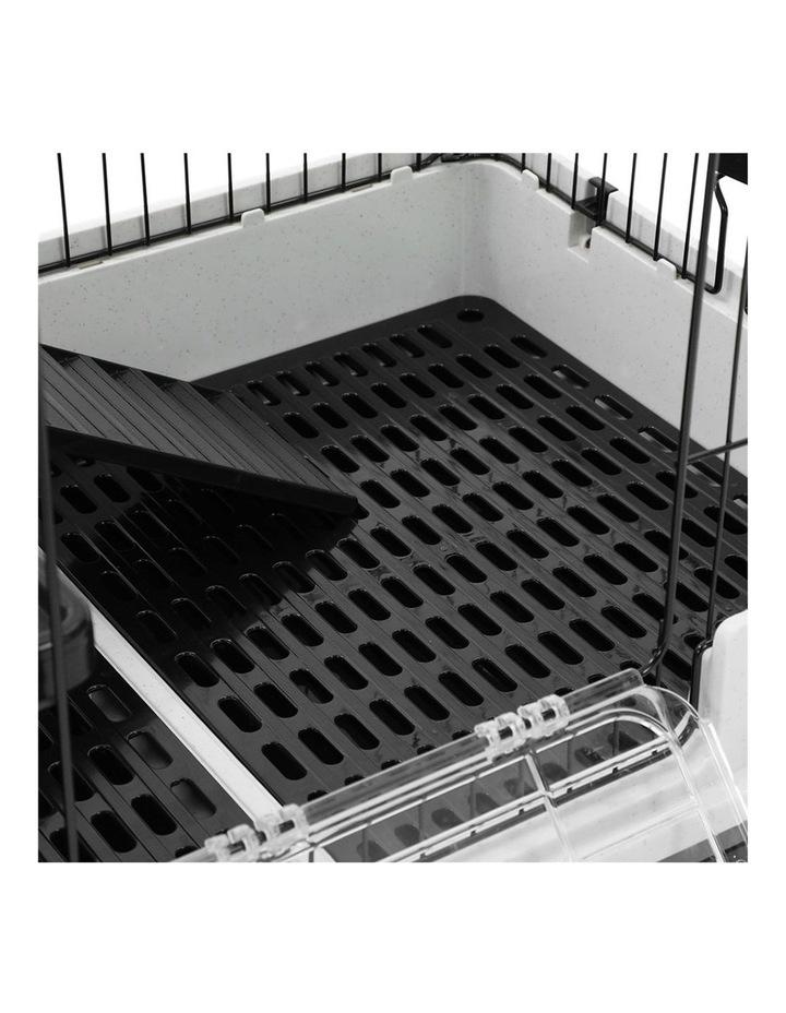 Pet Cage On Wheels 81x66cm Indoor/Outdoor Rabbit Carrier image 4