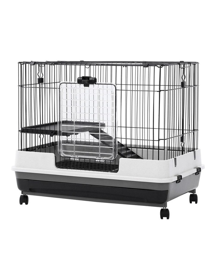 Pet Cage On Wheels 81x66cm Indoor/Outdoor Rabbit Carrier image 5
