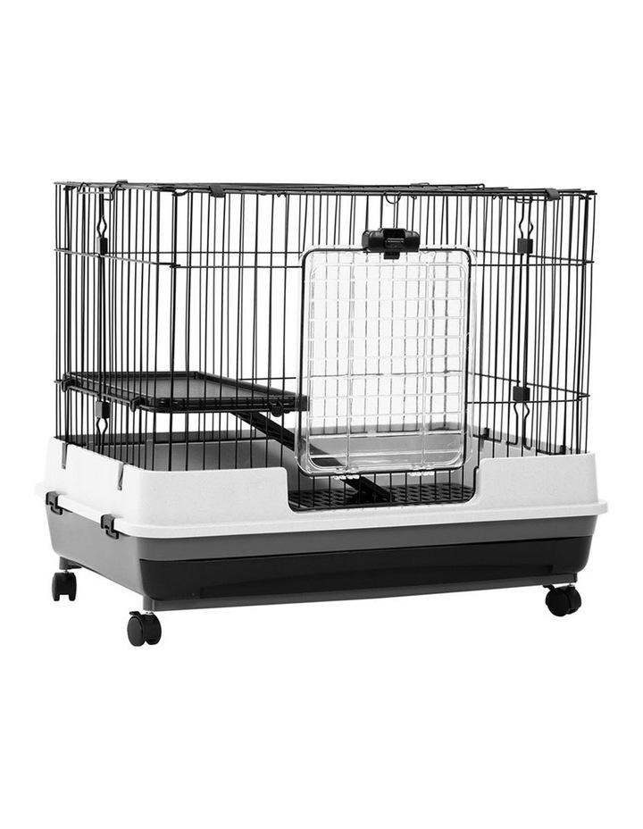 Pet Cage On Wheels 81x66cm Indoor/Outdoor Rabbit Carrier image 6