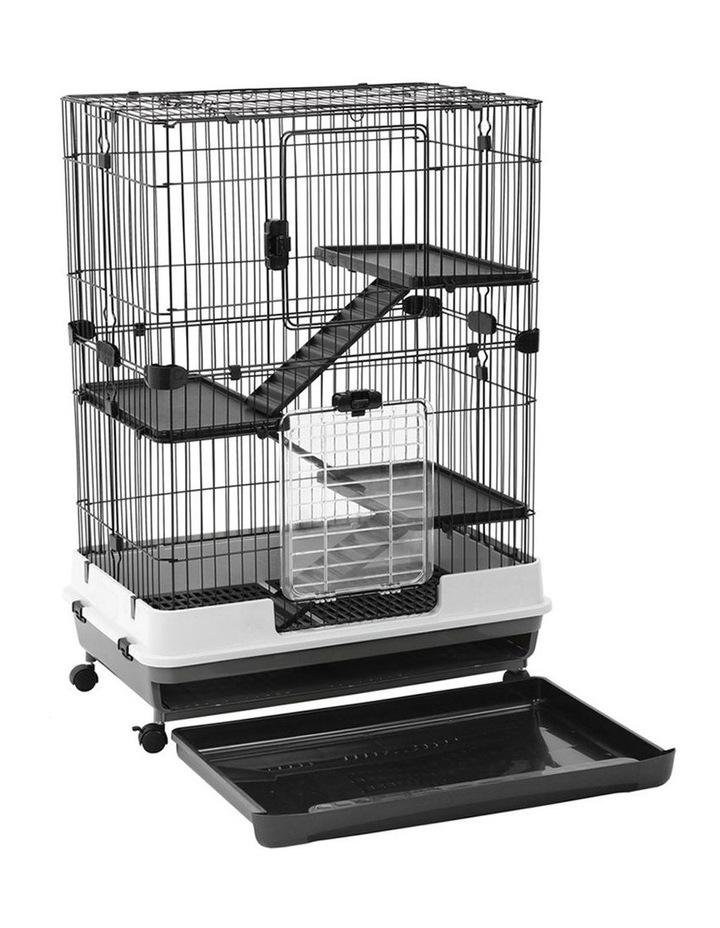 Rabbit/Guinea Pig 2 Tier Pet Cage On Wheels 104x81cm Indoor/Outdoor image 2