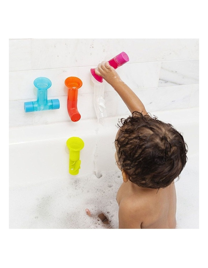 5pc Pipes Building Bath Toy Suction Set Tub/Shower Play/Fun Kids/Toddler image 2