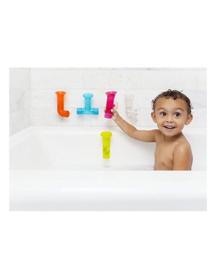 5pc Pipes Building Bath Toy Suction Set Tub/Shower Play/Fun Kids/Toddler image 3