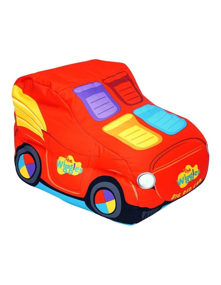 Big Red Car Bean Bag Chair/Sofa/Couch Cover Children/Kids - Red image 1