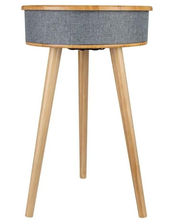 62cm Wood Smart Coffee Table w/ 8W Speaker/Wireless 10W Phone Charger image 2