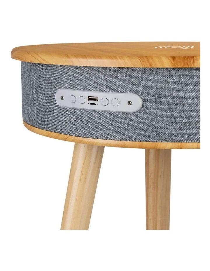62cm Wood Smart Coffee Table w/ 8W Speaker/Wireless 10W Phone Charger image 3