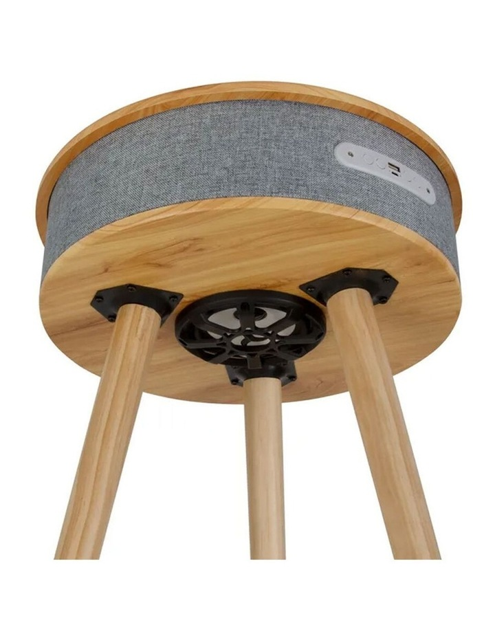 62cm Wood Smart Coffee Table w/ 8W Speaker/Wireless 10W Phone Charger image 4