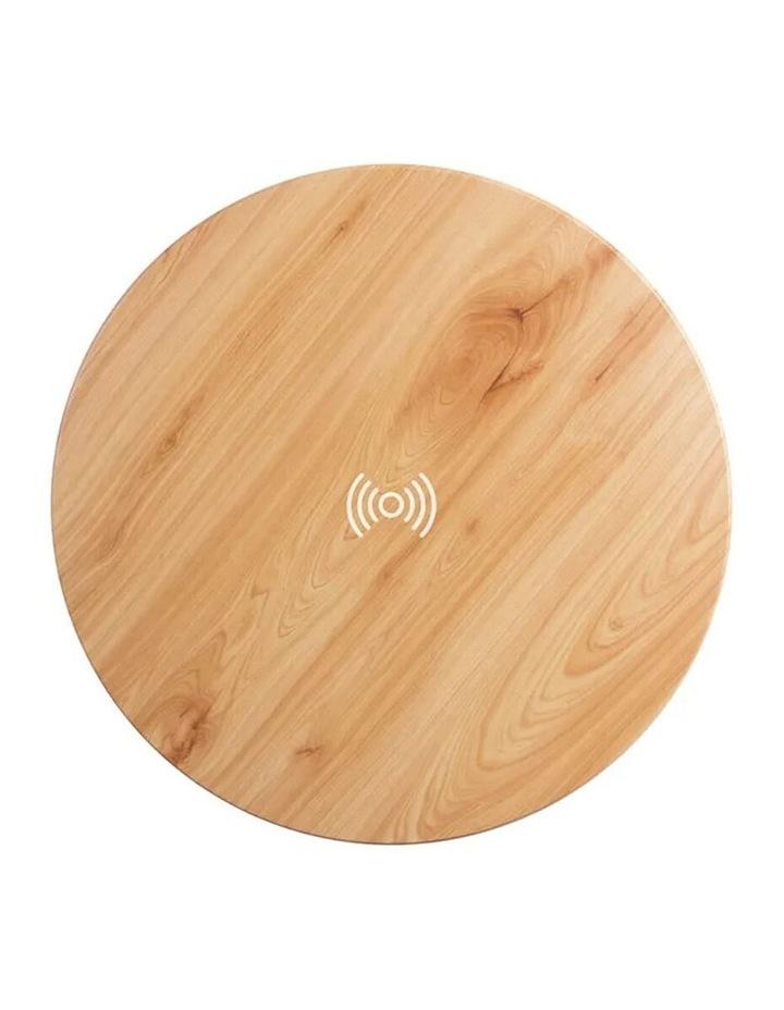 62cm Wood Smart Coffee Table w/ 8W Speaker/Wireless 10W Phone Charger image 5