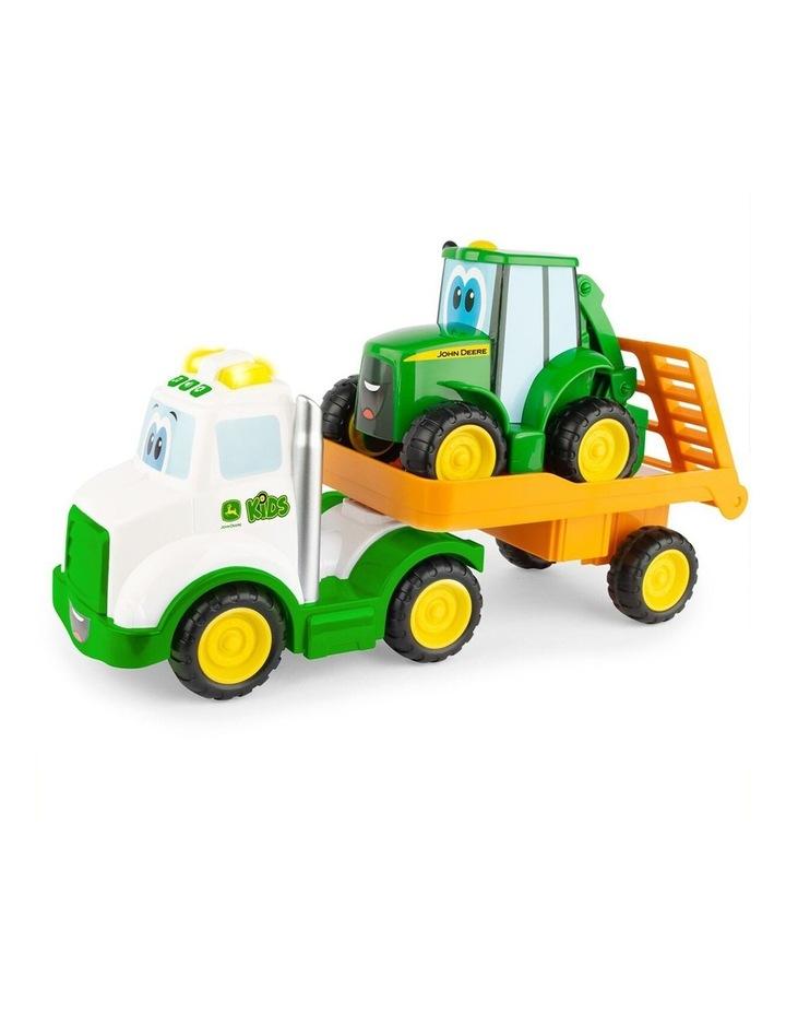 Farmin' Friends Hauling Set Truck/Tractor Kids Light/Sound Toy 18m+ image 1