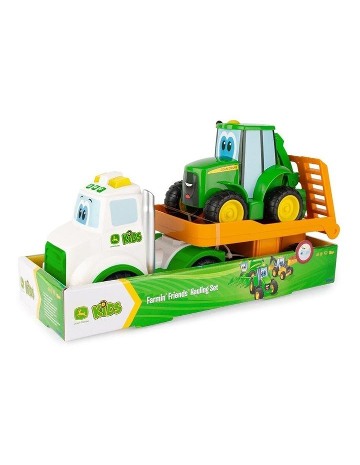 Farmin' Friends Hauling Set Truck/Tractor Kids Light/Sound Toy 18m+ image 2
