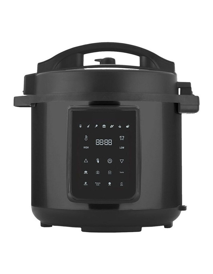 6L Air Fryer/Pressure Multi/Slow Cooker for Chips/Meat/Rice BLK image 2