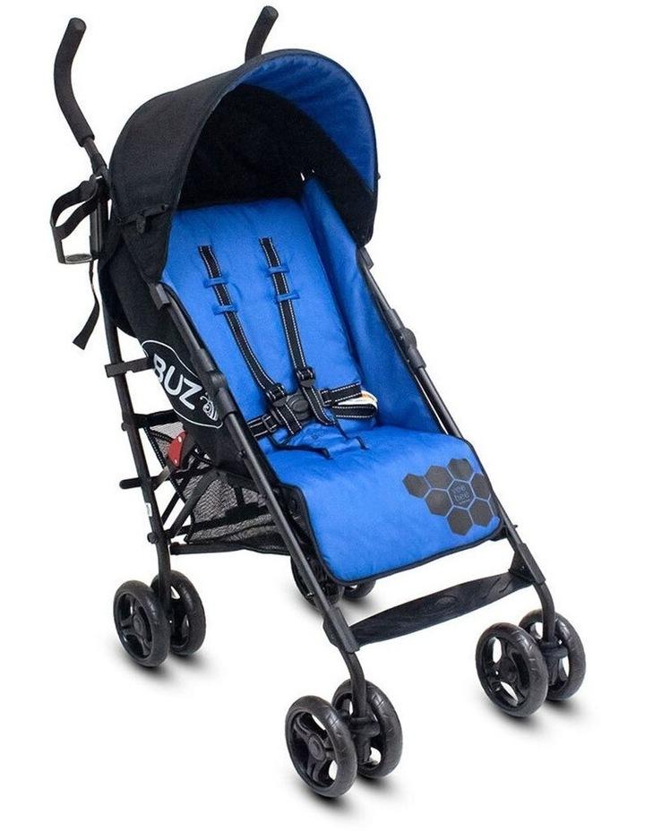 Buz 108cm Reclining/Foldable Stroller/Pram Baby/Infant 0m+ Royal Blue image 1