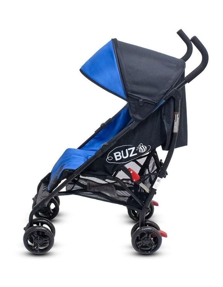 Buz 108cm Reclining/Foldable Stroller/Pram Baby/Infant 0m+ Royal Blue image 2