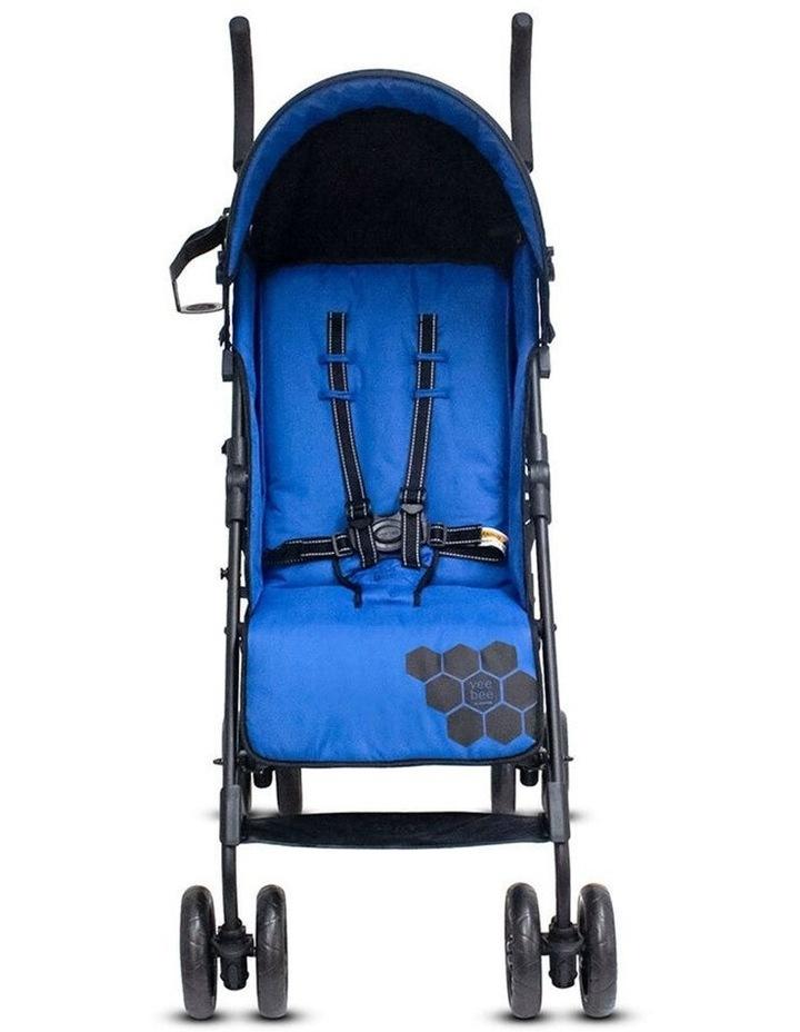 Buz 108cm Reclining/Foldable Stroller/Pram Baby/Infant 0m+ Royal Blue image 3