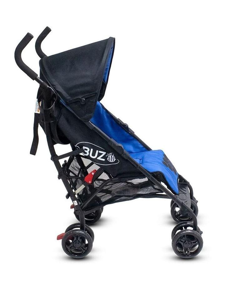 Buz 108cm Reclining/Foldable Stroller/Pram Baby/Infant 0m+ Royal Blue image 4