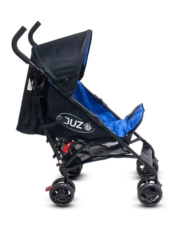 Buz 108cm Reclining/Foldable Stroller/Pram Baby/Infant 0m+ Royal Blue image 5
