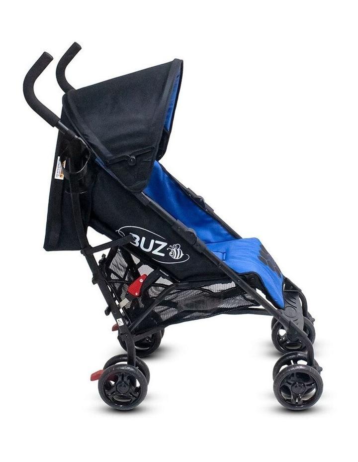 Buz 108cm Reclining/Foldable Stroller/Pram Baby/Infant 0m+ Royal Blue image 6