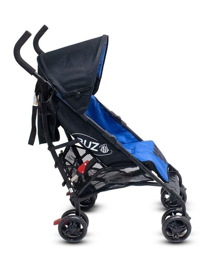 Buz 108cm Reclining/Foldable Stroller/Pram Baby/Infant 0m+ Royal Blue image 7
